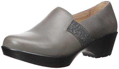 Dansko Women's Jessica Flat, Grey Nappa, 39 EU/8.5-9 M US (Dansko Shoes For Women Grey)