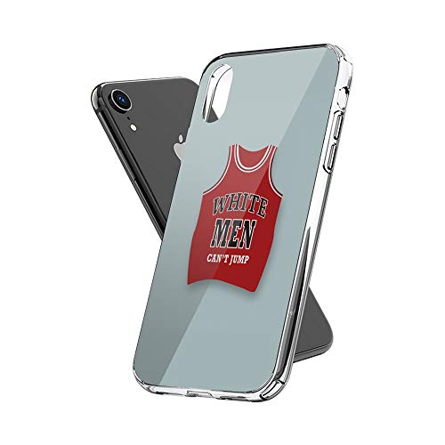 Case Phone Anti-Scratch Cover Motion Picture White Men Can't Jump Alternative Movie Sports Movies (6.5-inch Diagonal Compatible with iPhone Xs Max)