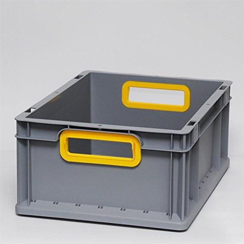 Griffmulde blau Euroboxen Eurokasten Eurobeh/älter offener Griff 400 x 300 x 170 mm Eurokisten Eurobox Lagerbox Lagerboxen Lagerkiste Lagerkisten