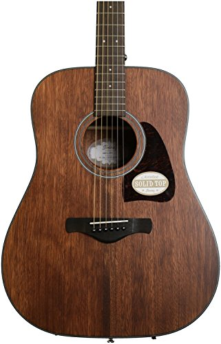 Ibanez AW54OPN Artwood Dreadnought Acoustic Guitar - Open Pore Natural by Ibanez