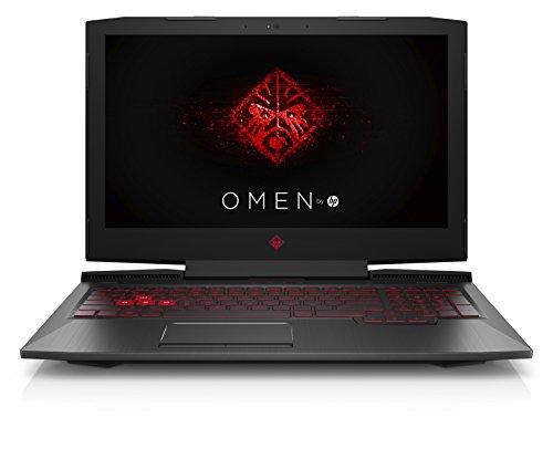 OMEN by HP 15-ce020ng (15,6 Zoll / Full HD IPS) Gaming Notebook (Intel Core i7-7700HQ, 1TB HDD, 128GB SSD, 8GB RAM, NVIDIA GeForce GTX 1060 6GB DDR5, G-Sync, Windows 10 Home) schwarz