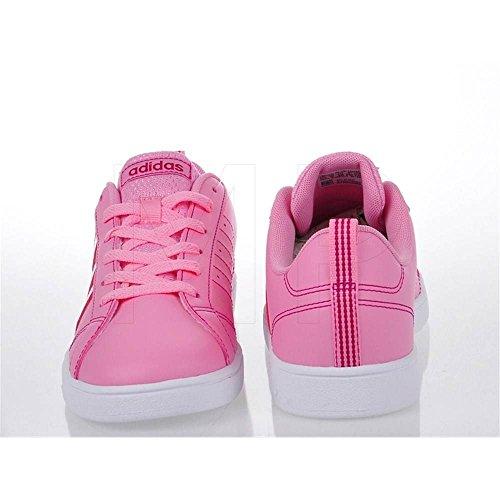 adidas VS ADVANTAGE K - Zapatillas deportivaspara niños, Rosa - (ROSSUA/ROSFUE/FTWBLA), 35