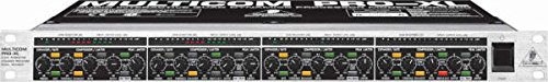 Behringer MDX4600 MULTICOM PRO-XL - 4 Channel Compressor/Limiter and Peak Limiter