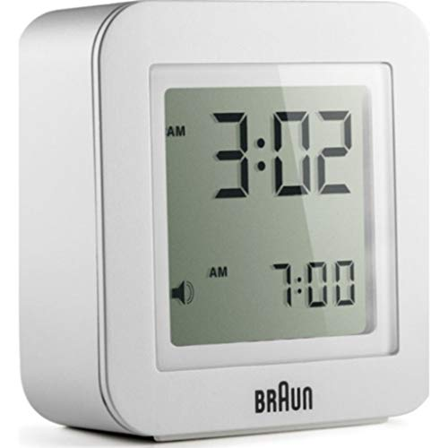 braun digital lcd alarm clock - 7