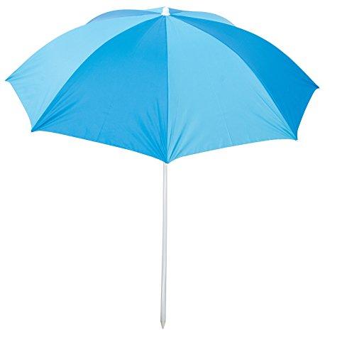- RIO Brands Deluxe 6' Sunshade Umbrella - Blue/Turquoise