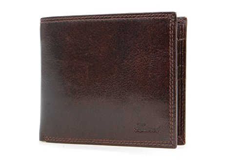 Leather Classic Gift amp; Brown Brown Box Vt Ashwood Card Wallet PpRO0q0