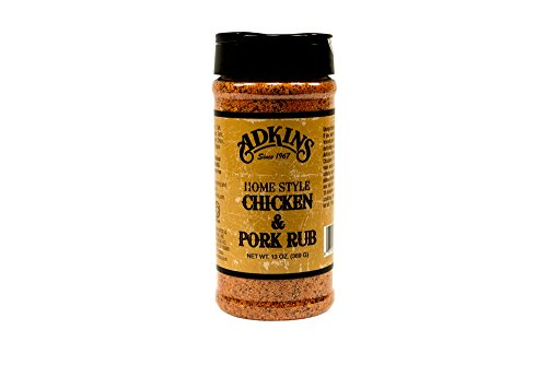 Adkins Home Style Chicken & Pork Rub 13 OZ All Natural