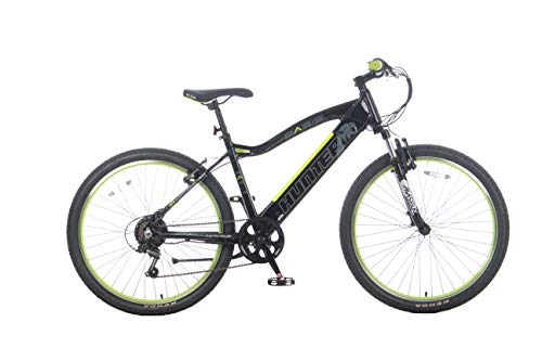 Basis Hunter Unisex Integrated Electric Mountain Bike - Black/Lime