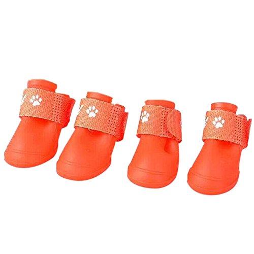 Chiot De D'étanchéité À Pour M Grand Les Bottes Moyen Taille Meijunter Imperméables Poussin Chaussures Vert Rouge gUXI4q