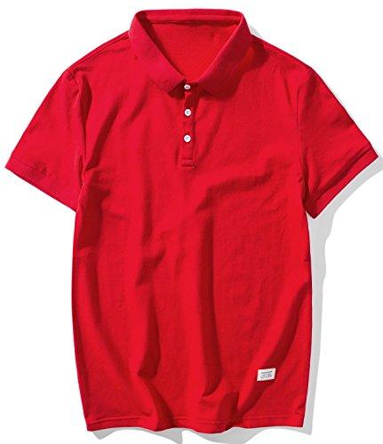 失望させる聴覚障害者またはBalobo Tシャツ メンズ 半袖 ラペル ゴルフ ゴルフシャツ スポーツ カジュアル 快適通気性 ティーシャツメンズ 大きい サイズ101
