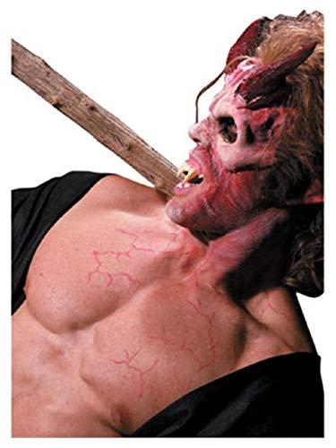 Latex Costume Accessory Devil Horns Prosthetics Kit ()