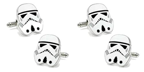 Star Wars StormTrooper Black Cufflinks