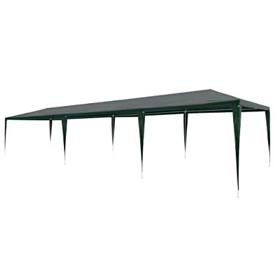 "Arichtops Party Tent PE Green 9'10""x29'6"": Kitchen & Dining"