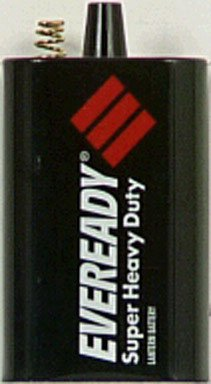 12 Pack Eveready 1209 6-Volt Super Heavy Duty Lantern Battery