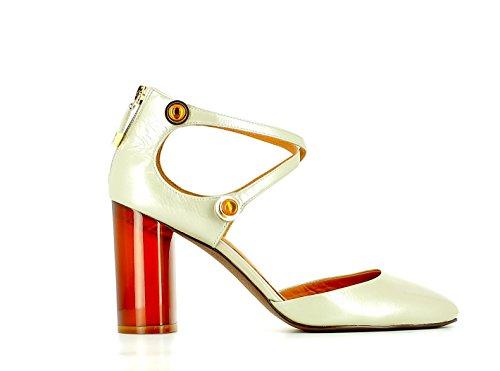 What For Zapatos de Tacón Alto, Verde Claro, T. 37