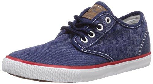 Dockers by Gerli 36VC602-790600 - zapatilla deportiva de lona infantil azul - Blau (blau 600)