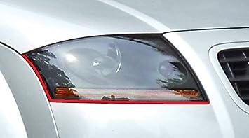 passend f/ür Ihr Fahrzeug Devil Eye Scheinwerfer Aufkleber Stripes in rot