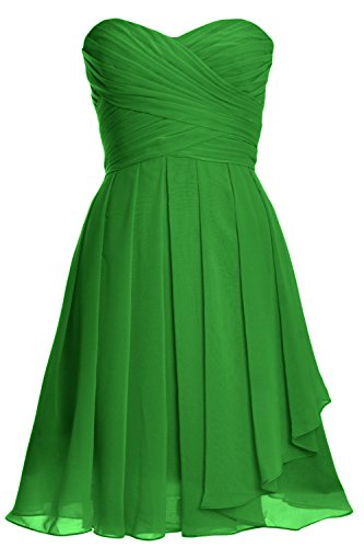Party up Gown Women Green Short Lace Strapless Cocktail Dress Bridesmaid MACloth SfqwUTtFF