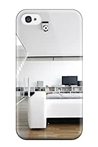Durable YY-ONE For Iphone 4/4s Tpu Cover(sims 3 Celebrity Beach House Modern Design )