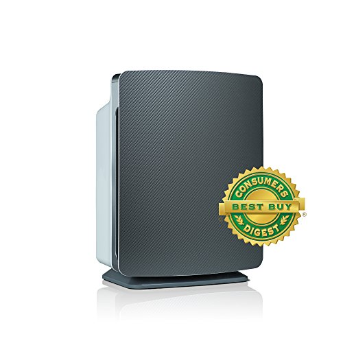 Alen BreatheSmart FIT50 Air Purifier for Bedrooms & Living Rooms – HEPA Filter for Smoke & Chemicals – 900 sqft – Graphite