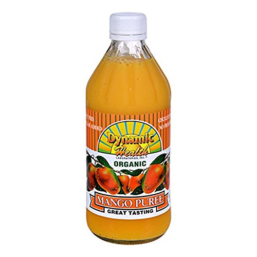 Dynamic Health Mango Puree, 16 Ounce Dynamic Health Mango Puree