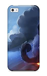 4364659K29329665 High-quality Durability Case For Iphone 5c(warrior Cat)