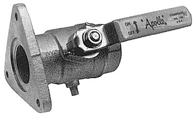 - Conbraco Industries Ball Valve with Flange 2