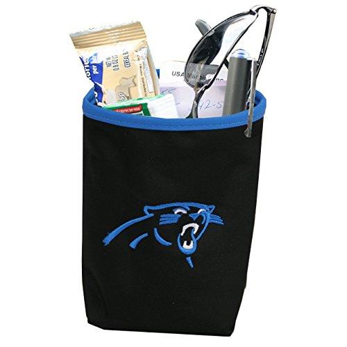 NFL Carolina Panthers Logo Car Pocket Organizer - Hangs from Car Vent