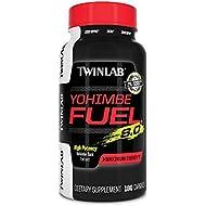 Twinlab TWL Yohimbe Fuel Diet Supplement Capsules, 100 Count