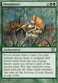Magic The Gathering 10th Edition Decks - Magic: the Gathering - Abundance (249/383) - Tenth Edition