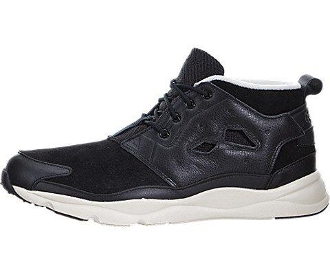 Reebok Furylite Chukka L Mens in Black/Paper White, 10 (Reebok Chukka Shoes)