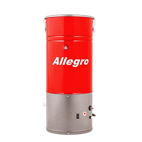 Allegro MU3400 Compact 2,500 Square Feet Central Vacuum Power Unit