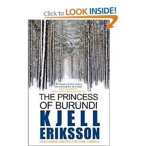 Book cover for The Princess of Burundi