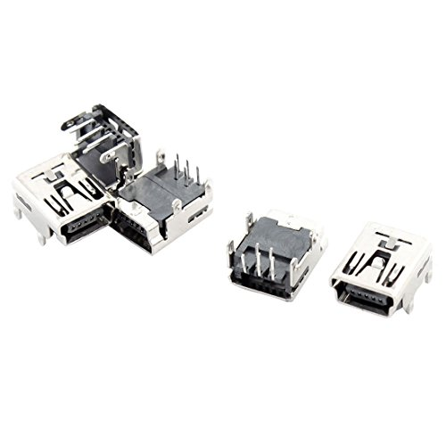 Uxcell Female Socket 5 Pin Connector