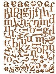 Making Memories Shimmer Jigsaw - Shimmer Jigsaw Swash Alphas: Brown