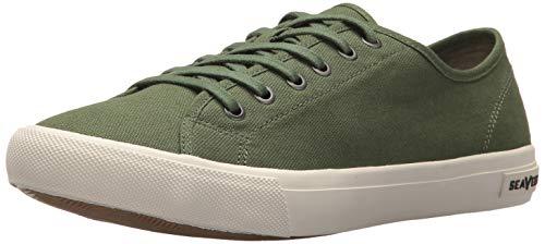SeaVees Men's Monterey Sneaker Standard, Green, 10.5 M US