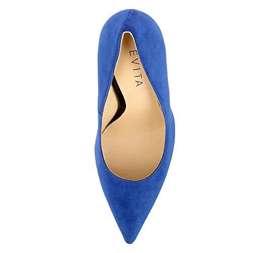 Desideria Royal bout Evita Daim Bleu Shoes Femme ce Pvwzxp Escarpins SIdzwq