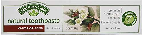 (Nature's Gate, Natural Toothpaste, Creme De Anise, 6 oz)