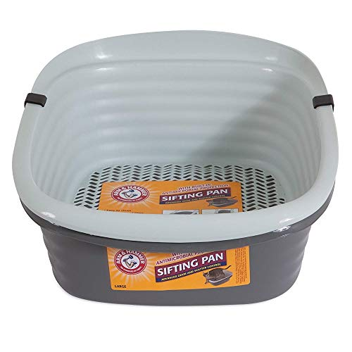 (Pet Mate 42036 Arm & Hammer Large Sifting Litter Pan)