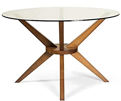 Pedestal Wood Base Dining Table Dining Table