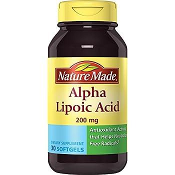 Nature Made R Alpha Lipoic Acid