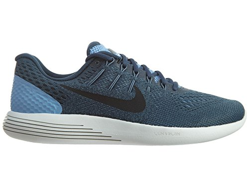 Nike 843725-401, Zapatillas de Trail Running para Hombre Azul (Light Blue / Black / Squadron Blue)