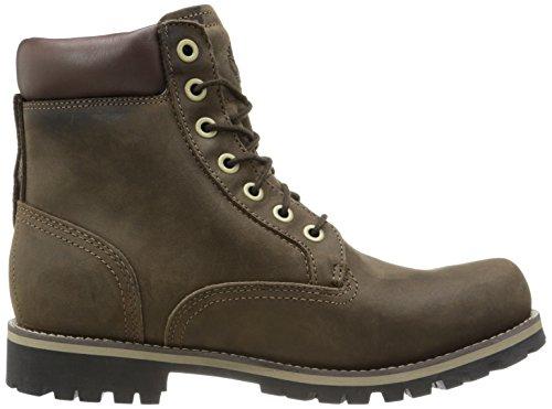 Timberland EK Rugged WP FTM_EK Rugged 6 in Plain Toe Boot - Botas clásicas de cuero hombre marrón - Braun (Dark Brown Oiled)