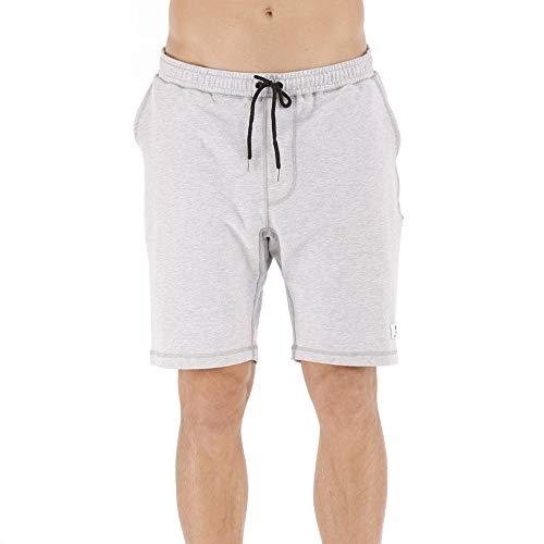 SZSZJFSYXGS Men's Jogger Gym Shorts with Pockets Cotton Sweat Shorts Breathable Big and Tall Shorts Elastic Waist