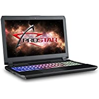Prostar Clevo P650HP6-G VR Ready Gaming 15.6 FHD/IPS/Matte Display with G-Sync, Intel Core i7-7700HQ, 32GB DDR4, GTX 1060, 256GB NVMe SSD, 1TB HDD, Windows 10 Home, Wi-Fi+Bluetooth, 1-Year Warranty