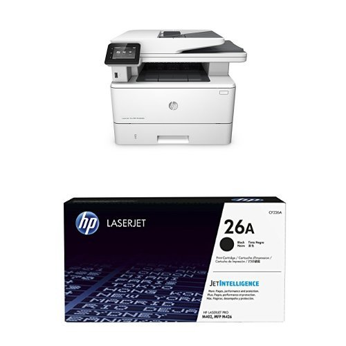 HP LaserJet Pro M426fdn Printer and Black Toner Bundle by HP