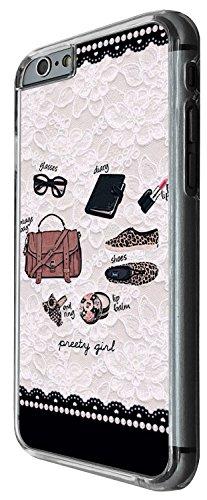 1253 - Cool Fun Trendy cute fashion bloggers favourite handbag sunglasses lipstick nailpolish Design iphone 6 Plus / iphone 6 Plus S 5.5'' Coque Fashion Trend Case Coque Protection Cover plastique et