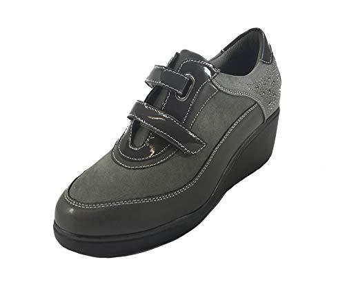 MUDS de à Ville Femme Chaussures Gris Lacets pour 4rvx4w