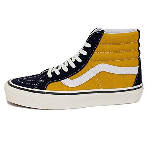 (Vans Sk8-Hi 38 Dx Unisex Casual Sneakers, Size 7.5, Color Og Navy)