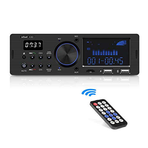 ieGeek Bluetooth Stereo Car Stereo Audio Receiver for: Amazon.co.uk: Electronics